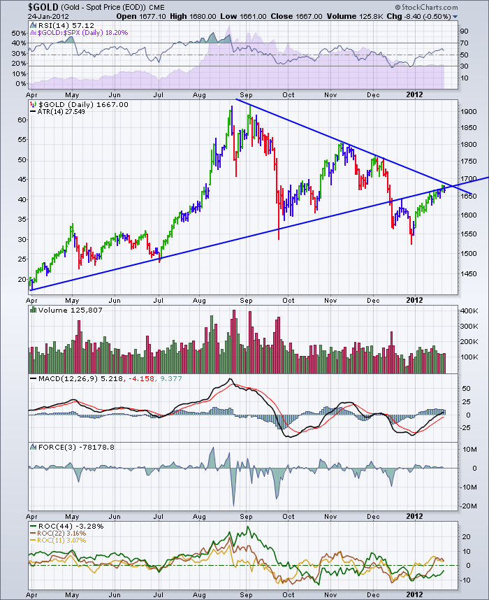 $GOLD 20120124 Daily