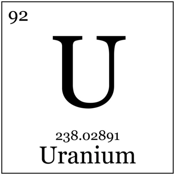 Uranium Symbol Uranium Looking ...